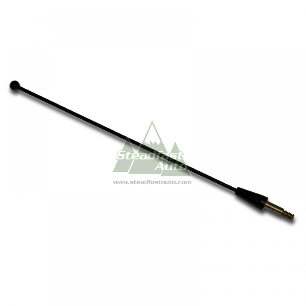 "Ford Mustang Antenna 8"" - Black - 1979-1993 All"