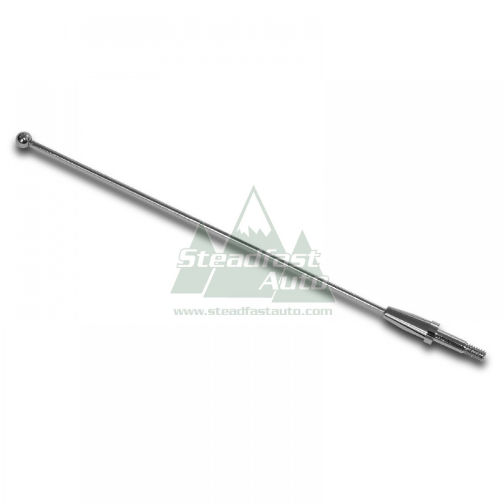 """Ford Expedition Antenna 8"""" - Chrome - 1997-2002 All"""
