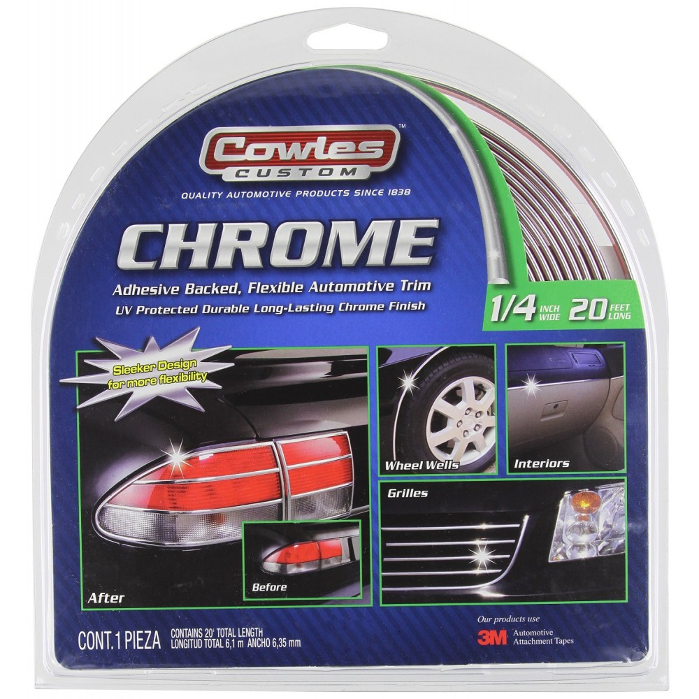 Cowles Custom Universal Body Molding - Chrome