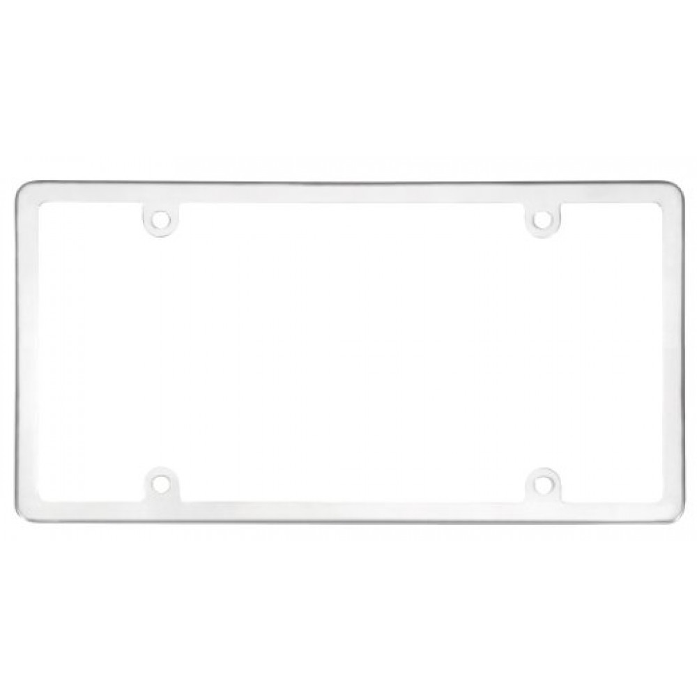 Cruiser Accessories Elite License Frame - Stainless Steel